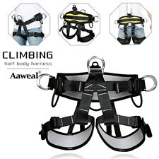 Pro Safety Rock Climbing Caving Tree Harness Fall Protector Rappelling Seat Belt