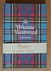Vivienne Westwood 'Catwalk' hardback book. Hand signed by Vivienne and Andreas.