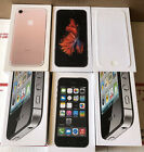EMPTY BOX Lot of 6 ~ iPHONE 4 S x 2 5 S 6 6S 7 * EMPTY BOXES ONLY