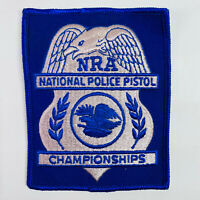 NRA National Police Pistol Championships National Rifle Association Patch (A2-A)
