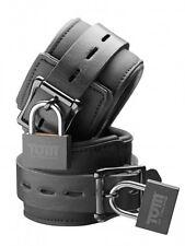 NEOPRENE CUFFS adjustable flexible locking locks Tom of Finland Black WRIST