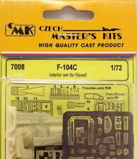 CMK 1/72 F-104C Interior Set for Revell # 7008