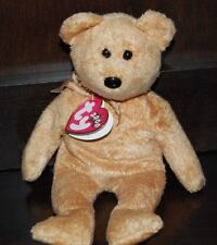 TY RETIERED BEANIE BABY CASHEW BEAR 2000 TY 2000 USED WITH TAGS a7a8c7ad607c