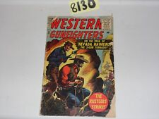 Western Gunfighters #21 Photos of the actual books Atlas 1956