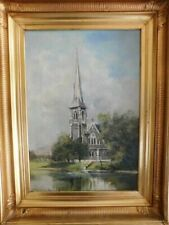 Architecture Framed Art Oil Paintings