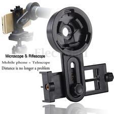 Universal Astronomical Telescope Smartphone Camera Mount Holder Adapter Clip