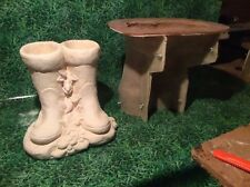 LATEX ONLY MOULD WELLY BOOTS PLANTER 32CM TALL ORNAMENT MOULD