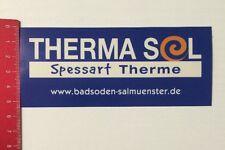 Aufkleber/Sticker: Therma Sol - Spessart Therme - Badsoden Salmünster(110416129)