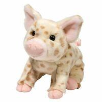 Douglas Mud Pie BROWN PIG Plush Toy Stuffed Animal NEW