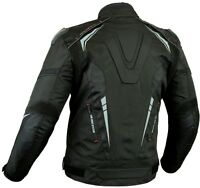 PROVIZ MENS EXTRA PROTECTION CE ARMOUR MOTORBIKE / MOTORCYCLE TEXTILE JACKET