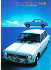 Toyota Corolla KE10 1100 Saloon Estate 1968-1970 Original UK Sales Brochure