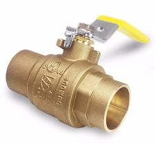 Brass Ball Valve 600 WOG Full Port Sweat Solder End 1