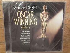 VARIOUS ARTISTS - 20 YEARS OF ORIGINAL OSCAR WINNING SONGS CD 2005. NEW & SEALED