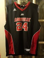 Louisville Cardinals adidas Big East Basketball Jersey #24 Youth XL 18-20 Sutton