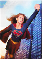 Supergirl Season 1 Promo Card P3 P-3 Cryptozoic