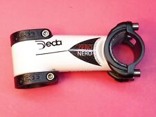 Deda Zero Nero White Carbon handlebar stem  31 / 100mm  NOS