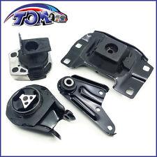 NEW 04-09 Mazda 3 2.0L / 04-09 Mazda 3 2.3L Engine Motor & Trans Mount Set 4PCS.