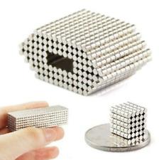 100Pcs N50 Strong Mini Disc Magnets Neodymium Rare Earth Round Craft 2 x 2mm