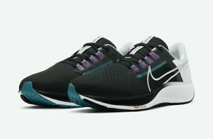 Nike Air Zoom Pegasus 38 Running Shoes Black White Fuchsia CW7356-003 Men's NEW