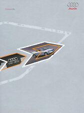 Audi Presseinfo Presse Bilder des Modelljahrgangs 2003 inkl. orig. CD Auto PKWs