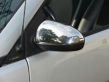 Miroir Bouchons Smart Fortwo 451 à Partir De 2007 en acier inoxydable poli mieux que Chrome