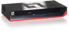 5Port Netzwerkswitch Gigabit 10/100/1000 LevelOne GSW-0507 Frei Haus DHL NEU