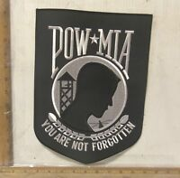 Large POW*MIA  Embroidered Back Patch
