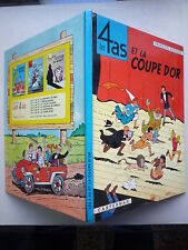 1967 LES 4 AS ET LA COUPE D'OR DE FRANCOIS GEORGES CHEZ CASTERMAN