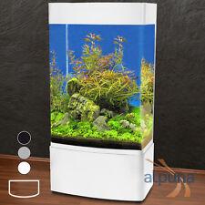 Panorama Säulen-Aquarium GHH-80 > 350L weiß T5