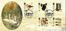 12 MARCH 1996 WILDFOWL AND WETLANDS BRADBURY LIMITED EDITION FIRST DAY COVER