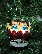 Alice In Wonderland, Tweedle Dee and Tweedle Dum Christmas Ornament