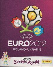UEFA EURO 2012 POLAND-UKRAINE STICKERS ALBUM VUOTO/EMPTY PANINI