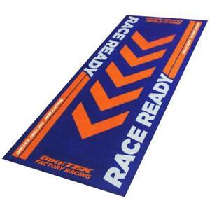 Garagenmatte Race Ready Orange Garage Teppich Matte Werkstatt Ausstellung