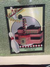 2001 PELZMAN'S VANDOR DESIGN RETRO BOWLING ALLEY COOKIE JAR