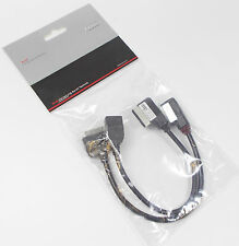 GENUINE AUDI MMI 3G+ USB IPOD IPHONE AMI MUSIC INTERFACE MEDIA ADAPTER CABLE SET