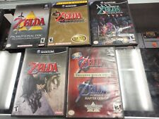 Legend of Zelda Nintendo GameCube LOT 5 Games
