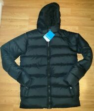 COLUMBIA boys/mens THE BIG PUFF padded jacket BLACK XL extra large 40 - 42 BNWT