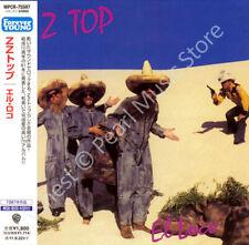 ZZ TOP EL LOCO CD MINI LP OBI Billy Gibbons Dusty Hill Frank Beard album rock