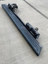 LH 03-06 LINCOLN NAVIGATOR BLACK RUNNING BOARD STEP + MOTOR ASSEMBLY LEFT