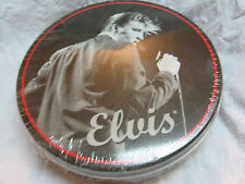 ELVIS PRESLEY FROSTED PRETZELS IN TIN CONTAINER STILL SEALED EPE STICKER CANDID