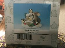 """Charming Tails """"Jingle Bell Rock"""" 87/132; New; W/4 Brass Bells; Factory Sealed"""