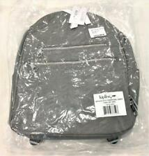 Kipling Tina Large Quilted Laptop Backpack Charcoal Grey NWT  $169