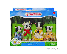 Sylvanian Families Calico Critters Fresian Buttercup Cow Family
