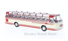#BUS009 - IXO Setra S14 - beige/rot - 1966 - 1:43