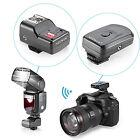 Neewer Radio Wireless Flash Trigger with 2 receiver for Canon Nikon Speedlite