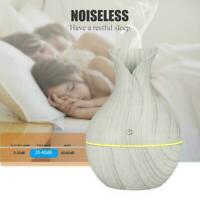 LED Aroma Essential Oil Diffuser Air Purifier Ultrasonic Home Aromatherapy V1N1