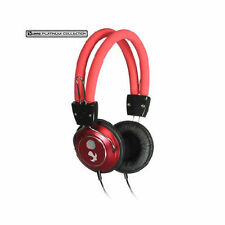 Luxmo Platinum Collection BeatBass Stereo Headphones - Red