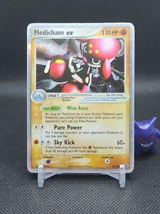 Pokemon - Medicham ex 95/106 Ex Emerald Ultra Rare Light Play