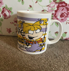 Rugrats Angelica Nickelodeon Mug Coffee Cup 1999 VGC Rare