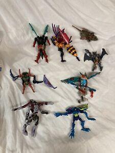 Transformers Beast Wars Parts Lot Vintage Beast Wars Toy Figures Missing Parts